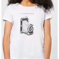 Photography Vintage Scribble Women's T-Shirt - White - XS - White - Photography Gifts