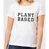 Plant Based Women's T-Shirt - White - 5XL - White