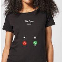 Gym Calling Women's T-Shirt - Black - XS - Black - Gym Gifts