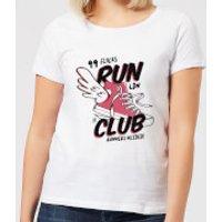 RUN CLUB 99 Women's T-Shirt - White - L - White