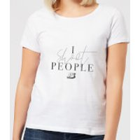 I Shoot People Women's T-Shirt - White - XL - White
