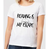 Reading Is My Escape Women's T-Shirt - White - XXL - White - Reading Gifts