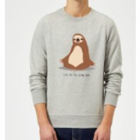 Life In The Slow Lane Sweatshirt - Grey - L - Grey