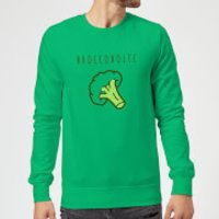 Broccoholic Sweatshirt - Kelly Green - S - Kelly Green