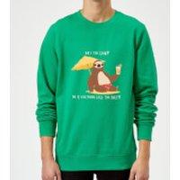 Am I Too Slow? Sweatshirt - Kelly Green - XXL - Kelly Green