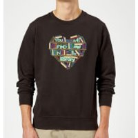 You Will Find Me In The Library Sweatshirt - Black - 3XL - Black
