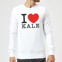 I Heart Kale Sweatshirt - White - XL - White
