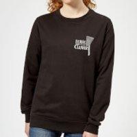 Image of Leave It To The Cleaver Women's Sweatshirt - Black - XXL - Black