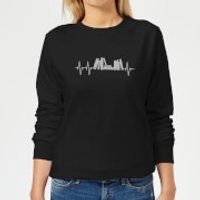 Heartbeat Books Women's Sweatshirt - Black - XXL - Black - Books Gifts