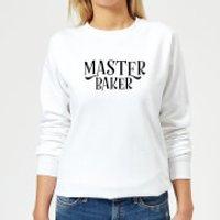 Master Baker Women's Sweatshirt - White - L - White
