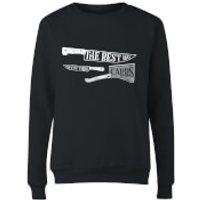 The Best Way To Cut Them Carbs Women's Sweatshirt - Black - 4XL - Black