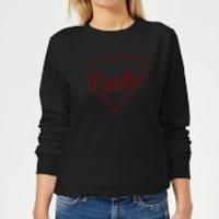 Love Carbs Women's Sweatshirt - Black - XS - Black