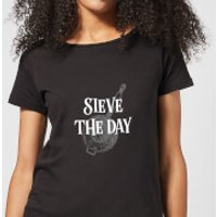 Sieve The Day Women's T-Shirt - Black - 3XL - Black