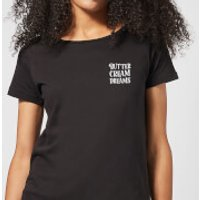 Buttercream Dreams Women's T-Shirt - Black - S - Black