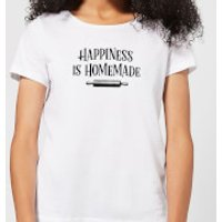 Happiness Is Homemade Women's T-Shirt - White - XL - White