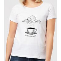 Storm In A Teacup Women's T-Shirt - White - XS - Weiß