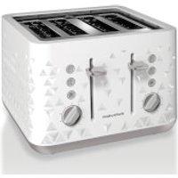 Morphy Richards Prism 4 Slice Toaster - White