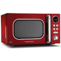 Morphy Richards Microwave 800W 20L - Red