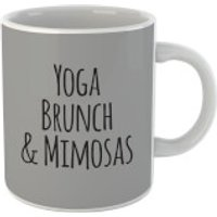Yoga Brunch And Mimosas Mug - Yoga Gifts