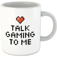 Talk Gaming To Me Mug - Computer Games Gifts