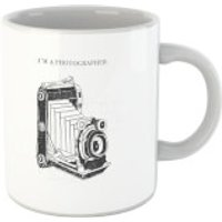 Photography Vintage Scribble Mug - Photography Gifts