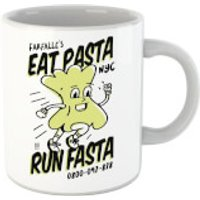 Eat Pasta Run Fasta Mug - Pasta Gifts