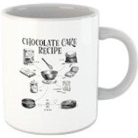 Chocolate Cake Recipe Mug - Chocolate Gifts