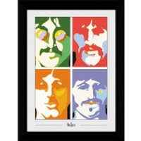 The Beatles Sea of Science Collectors 50 x 70cm Framed Photograph