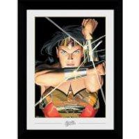 DC Comics Wonder Woman Ross Collector 50 x 70cm Framed Photograph - Woman Gifts