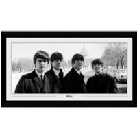 The Beatles Capitol Collectors 50 x 100cm Framed Photograph