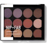 NIP+FAB Make Up Eyeshadow Palette - Fired Up 02 12g