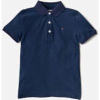 Tommy Hilfiger Boys Polo Shirt - Black Iris - 14 Years - Blue