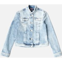 Tommy Hilfiger Girls Denim Trucker Jacket - Blue - 6 Years - Blue