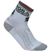 Sportful Bora Hansgrohe Race Team Socks - World Champion Edition - XXL - World Champion
