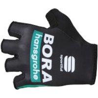 Sportful Bora Hansgrohe Race Team Gloves - Black/Green - S - Black/Green