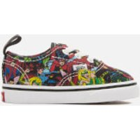 Vans Toddlers Marvel Characters Authentic Trainers - Multi/True White - UK 5 Toddler - Multi