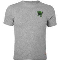 Vans Boys Marvel Hulk T-Shirt - Athletic Heather - L - Grey