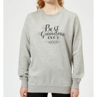 Best Grandma Ever Women's Sweatshirt - Grey - XS - Grey - Grandma Gifts