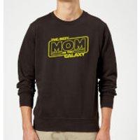 Best Mom In The Galaxy Sweatshirt - Black - XXL - Black - Mum Gifts