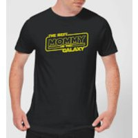Best Mommy In The Galaxy T-Shirt - Black - L - Black - Mum Gifts