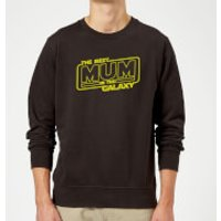 Best Mum In The Galaxy Sweatshirt - Black - L - Black