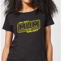 Best Mum In The Galaxy Women's T-Shirt - Black - XL - Black