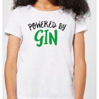 Powered By Gin Women's T-Shirt - White - XL - White