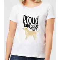 Proud Labrador Mum Women's T-Shirt - White - 5XL - White - Labrador Gifts