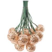 Elan Solar Copper Ball Lantern Fairy Lights - Lights Gifts