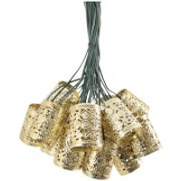 Elan Solar Copper Scroll Lantern Fairy Lights - Lights Gifts