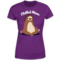 Mother's Day Chilled Mum T-Shirt - Purple - XXL - Purple - Mothers Day Gifts