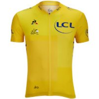 Le Coq Sportif Tour de France 2018 Leaders Official Jersey - Yellow - M - Yellow