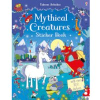 Mythical Creatures Sticker Book (Paperback) - Books Gifts