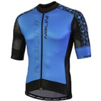 Nalini Velocita Short Sleeve Jersey - Blue/Black - S - Blue/Black